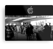 Apple Store Metal Print
