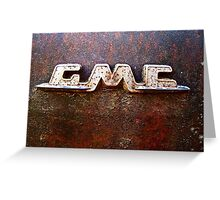 GMC Greeting Card