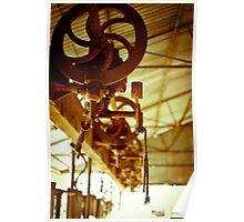 Shearing Station - Solferino, QLD Poster
