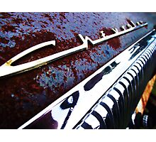 Chevrolet dash Photographic Print