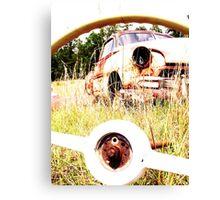 thur the wheel Canvas Print
