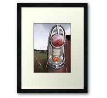 tail light Framed Print