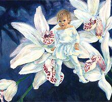 Orchid Fae by Gemma Art