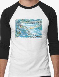 Pacey Street Men's Baseball ¾ T-Shirt