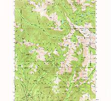 USGS Topo Map Oregon Eagle Cap 282439 1954 62500 by wetdryvac