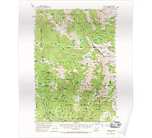 USGS Topo Map Oregon Eagle Cap 282439 1954 62500 Poster