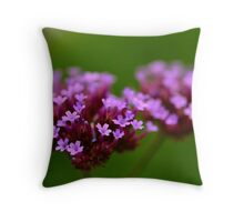 Purple Candy Throw Pillow