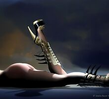 Dangerous by Sandra Bauser Digital Art