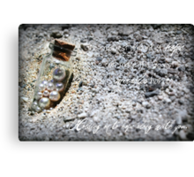The smallest amount of hope Canvas Print