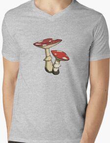 Amanita Mens V-Neck T-Shirt