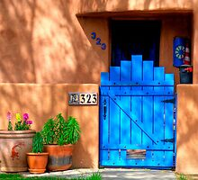 Albuquerque Door by Mitchell Tillison