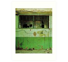 Abandoned and Decayed Art Print