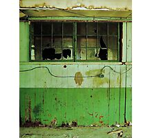Abandoned and Decayed Photographic Print