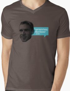 Jens Voigt - Einstein Mens V-Neck T-Shirt