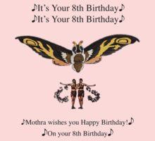 Mothra 8th birthday wish One Piece - Long Sleeve