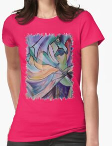 The Art of Belly Dance Womens Fitted T-Shirt