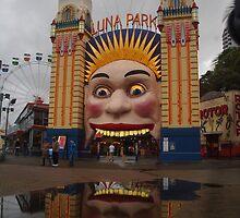 Luna Park Sydney by Linda Fury