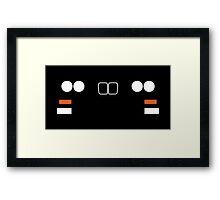 E30 front end simplistic design Framed Print
