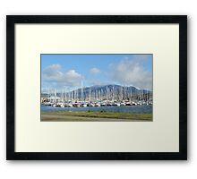 No Sails Today - Bellerive Yacht Club Hobart Tasmania Framed Print