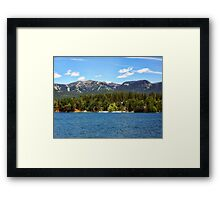 Two Resorts Framed Print