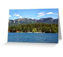 Two Resorts Greeting Card