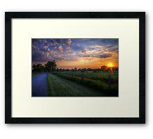 Ohayou Framed Print