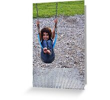 Swinging Greeting Card