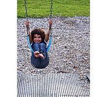 Swinging Photographic Print