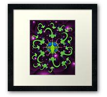 Giardia Bug with Anti-Virus Framed Print