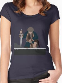 Bilbo Baggins - The Hobbit Women's Fitted Scoop T-Shirt