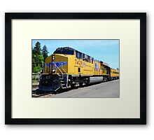 UP7429 - Operation Life Saver Framed Print