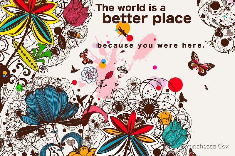 Because You Were Here by Franchesca Cox
