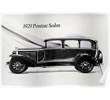 1929 Pontiac Sedan Poster