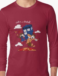 Clara and Doctor Long Sleeve T-Shirt