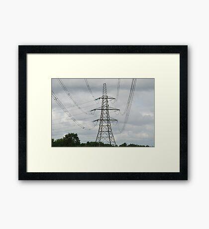 """Climbing"" Framed Print"