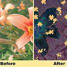 Puzzled Petals  by Edibl3leper