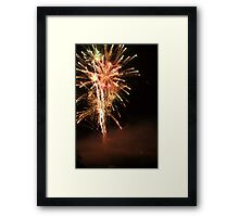 Happy Fourth of July.  Framed Print