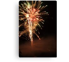 Happy Fourth of July.  Canvas Print