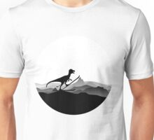 DINO ON SKI - Skiing Dinosaur - Dino Collection Unisex T-Shirt