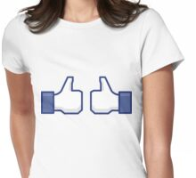 Like Womens Fitted T-Shirt