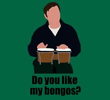 Sheldon Cooper Playing Bongos (with quote) - Minimalist design Unisex T-Shirt