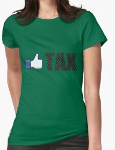 Like Carbon Tax Womens Fitted T-Shirt