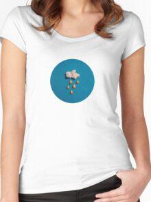 kernel cloud Women's Fitted Scoop T-Shirt