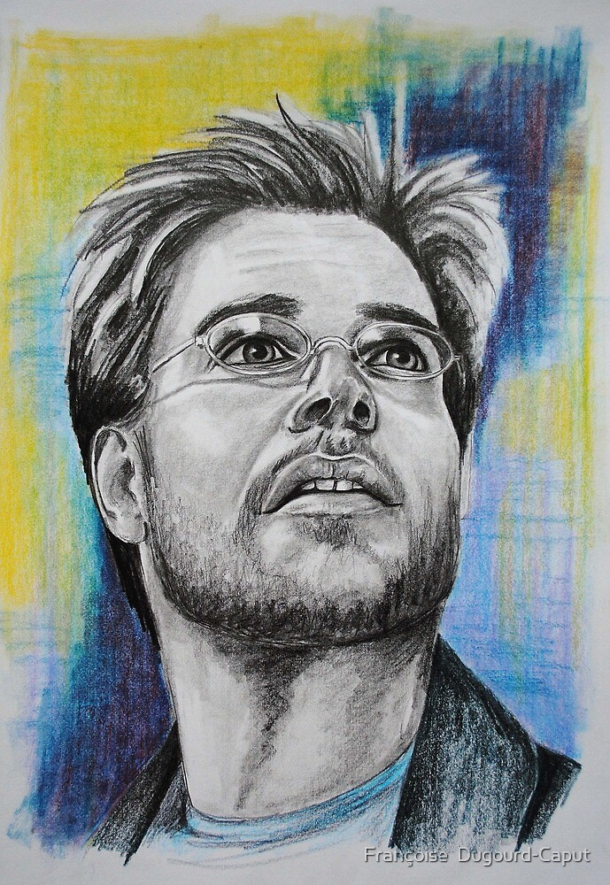 Michael Weatherly by Françoise  Dugourd-Caput