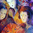Geisha Girls by Ivana Pinaffo