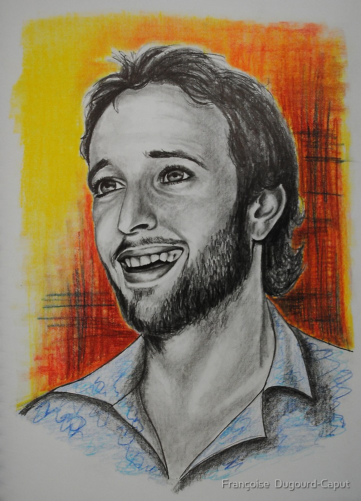 Alex O'Loughlin, featured in The Group by Françoise  Dugourd-Caput