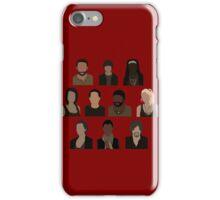The Walking Dead Cast - Minimalist style iPhone Case/Skin