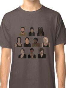The Walking Dead Cast - Minimalist style Classic T-Shirt