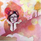 Autumn Love She Awaits by emxacloud