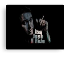 Its just a ride Canvas Print